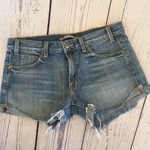 Vince denim shorts